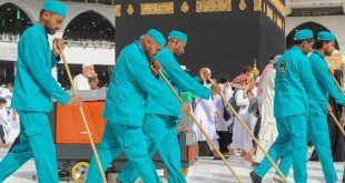 رئاسة شؤون المسجد الحرام تنتهي من أعمال تنظيف وتطهير وتطييب المسجد الحرام