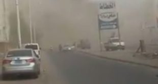 انفجار يستهدف مركز للشرطة اليمنية في العاصمة المؤقتة عدن ووقع عدد من الضحايا